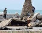 Cyclone Damage Force  Closure of North Jetties