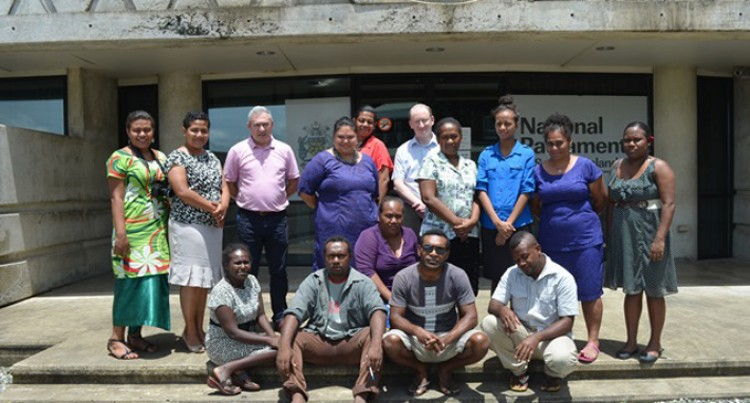 Solomons Parliament Welcome Journalists