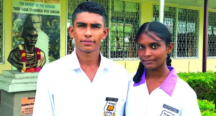 Yogeeta, Salman Lead  Ba Sangam College