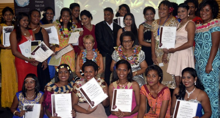 22 graduate from South Pacific Spa Academy