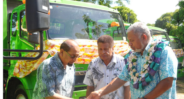 Seven Trucks to Boost Town Councils Service