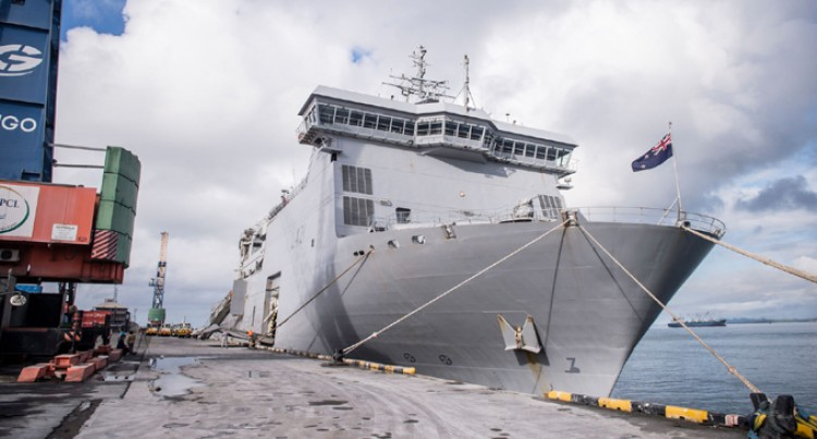 Recovery HMNZS Canterbury Back to Load More  Supplies for North