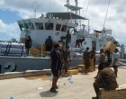 Tongan Navy  Reach Fiji Quick
