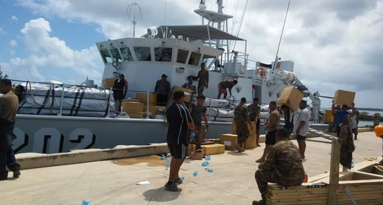 Tongan Navy  Reach Fiji Quick