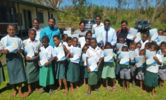 Minister Reddy Brings Supplies To the West