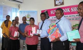 Suva Book Shop Donates Stationery To Education Ministry