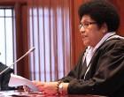 Speaker Leads Parliament Distribution Team