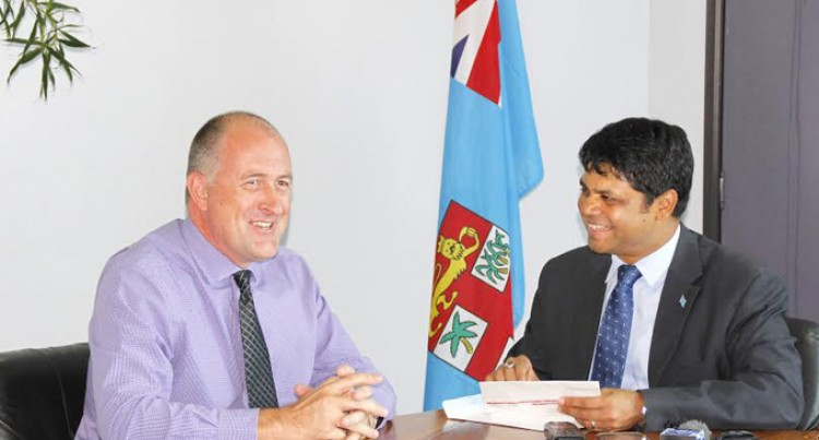 Attorney General Receives $100,000 From Digicel