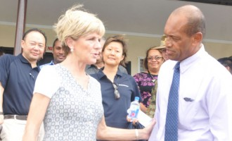 Usamate Thanks Aust's Assistance
