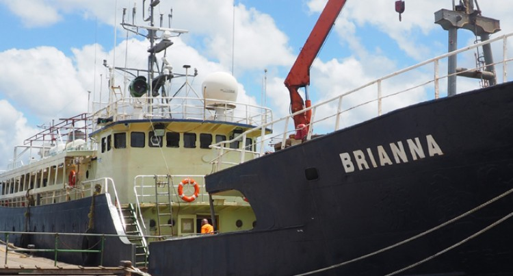 MV Brianna explores new route