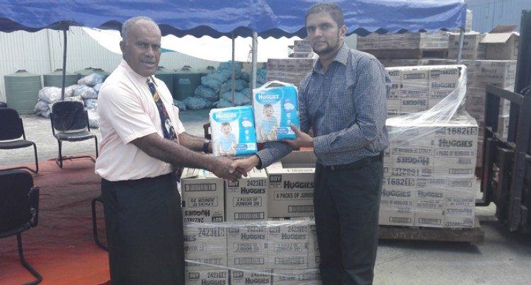 CJ Patel Donates Baby Supplies To NDMO