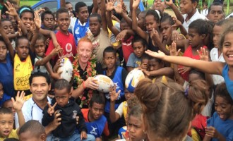 Fiji's 'Celebrity' Coach Relishes Pressure In Paradise