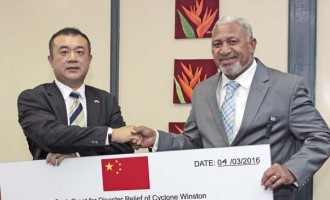 China Gives $2.12m Cash, $15m In Help