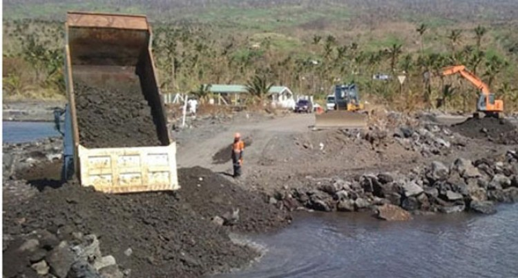 Taveuni Roads,  Jetties Reopen