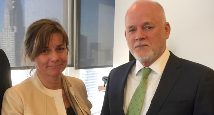 Sweden, Fiji Discuss UN Oceans Meet