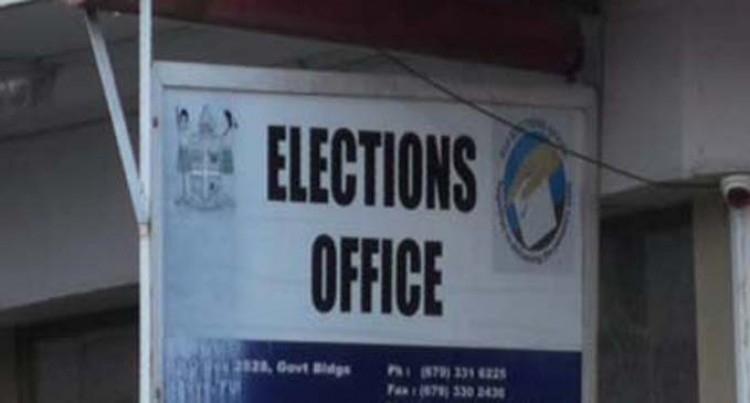 Voter services temporarily suspended