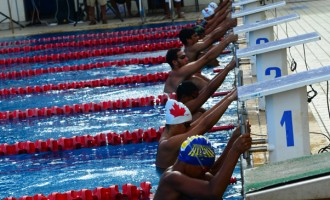 Swimmers Gear Up  For Oceania Champs