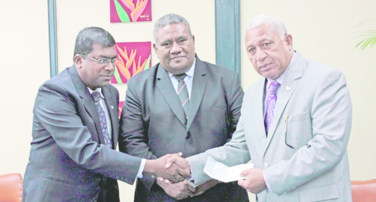 PM Lauds Students' Winston Relief Help