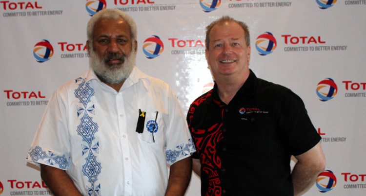 TOTAL Fiji Donates To Government's Cyclone Reliefs