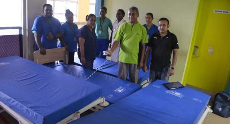 Labasa Hospital Medical Equipment Boost