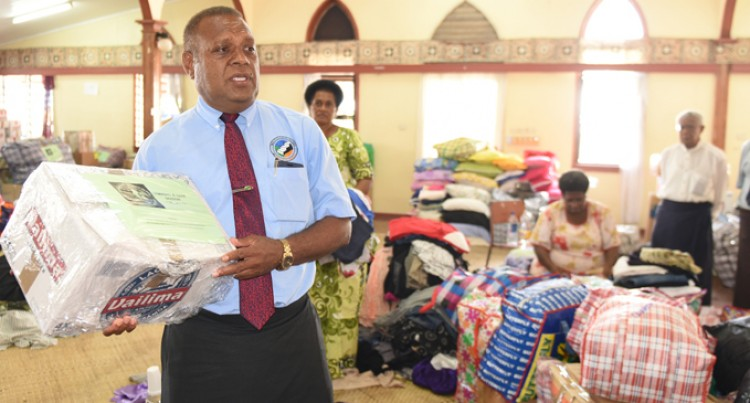 Methodist Church Donates Food Rations, Items