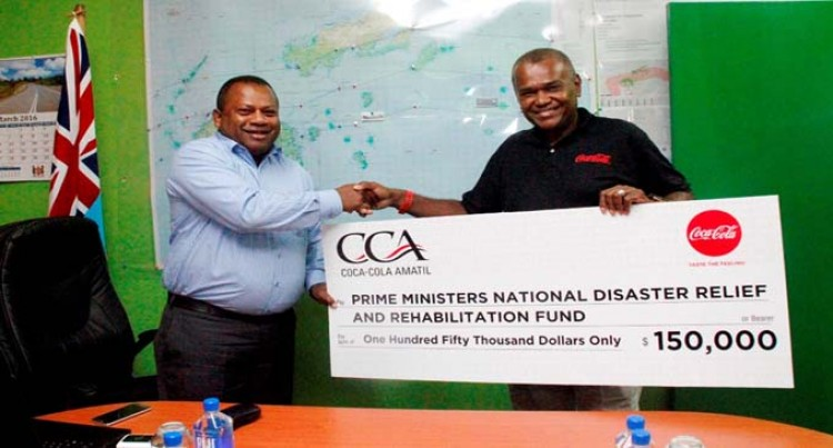 Coca-Cola Gives $150K  To PM's Relief Fund