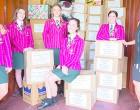 Schools Dispatch Goods To Fiji