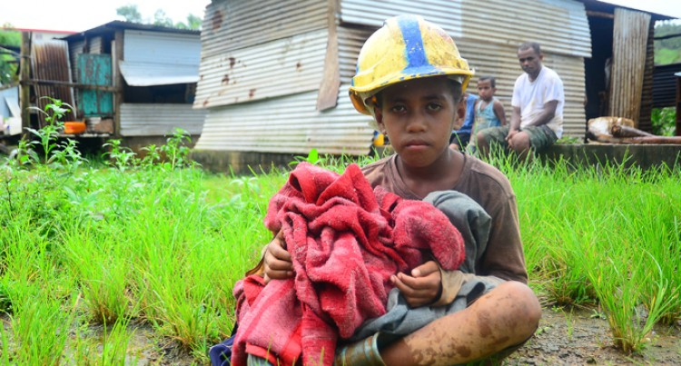 Collecting Essential Items For Cyclone-Ravaged Fiji