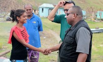President Konrote And Govt Ministers In Vanuabalavu