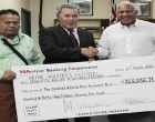 PM Thanks Tuvalu for Relief $249,939