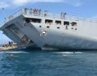 Royal NZ Navy Prove Vital To Rebuilding