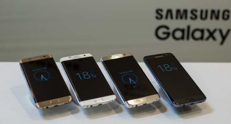 Samsung Galaxy S7 Edge In Fiji