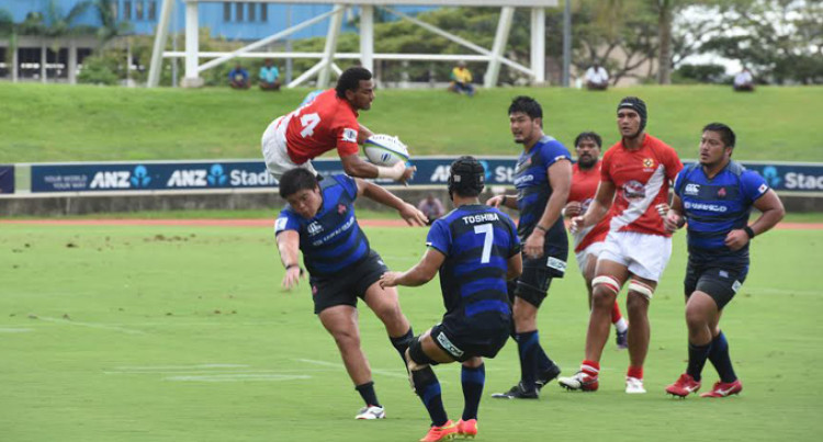 Tonga A Too Good For Japan