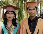 Mother And Son Graduate Together