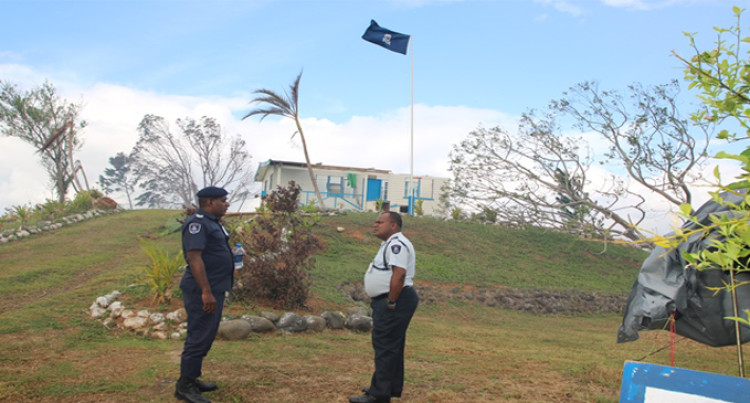 Standing Tall  to Serve: Police