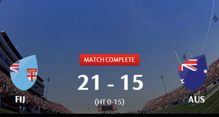 Fiji Wins USA 7s