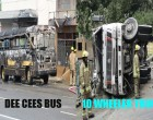 Dee Cees Bus Catches Fire