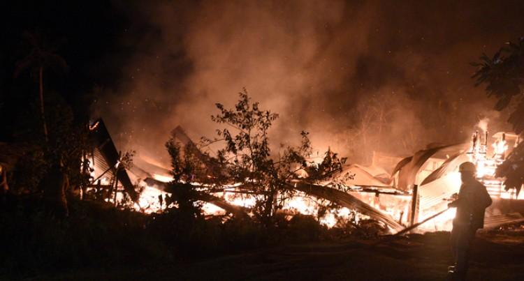 Veisari Family Escapes Fire