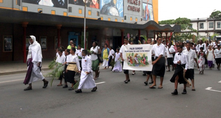 Kids Voices Ring Over Suva Streets