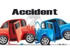 Accident Land Two In Hospital