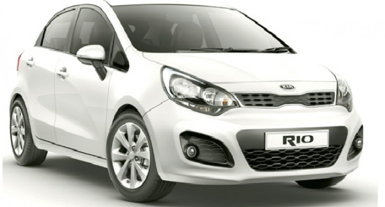 The Design Led Kia Rio
