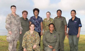 Combined Military Women Celebrate Day In Taveuni