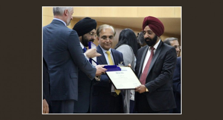 USP's Singh Honoured