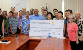 Chinese Community In Fiji Donates Towards Relief Efforts