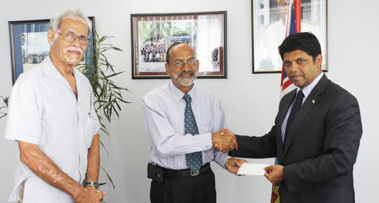 Attorney-General Receives $100,000 Cheque From USP