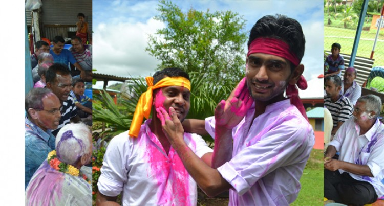 Labasa Best Friends  In Jolly Holi Spirits