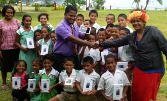 Kioa Primary School Goes Online