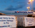 Korean Air Flies in 12.5 Tonnes of Relief