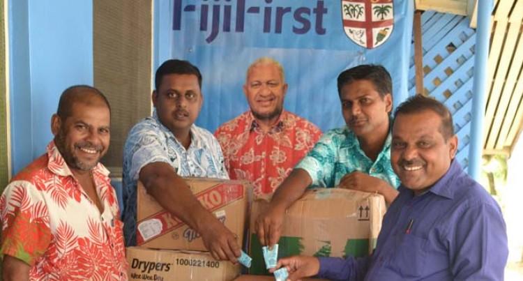 Labasa College Donates Through FijiFirst office
