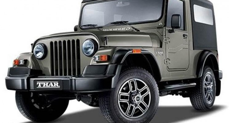 Mahindra Thar Can Be Your True off-Roading Companion